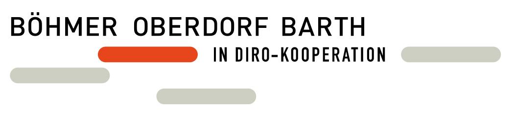 Logo - Rechtsanwaltskanzlei Böhmer – Oberdorf – Barth